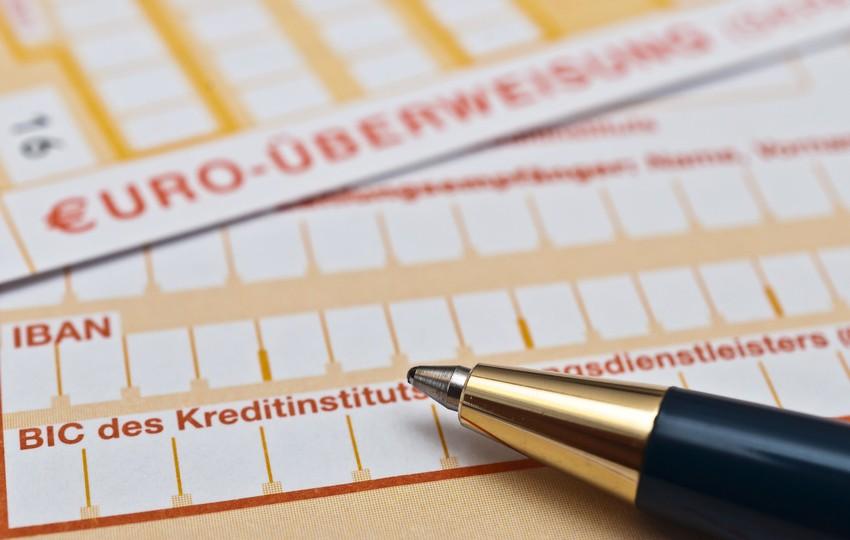 Scheck einlösen, Kredit beantragen