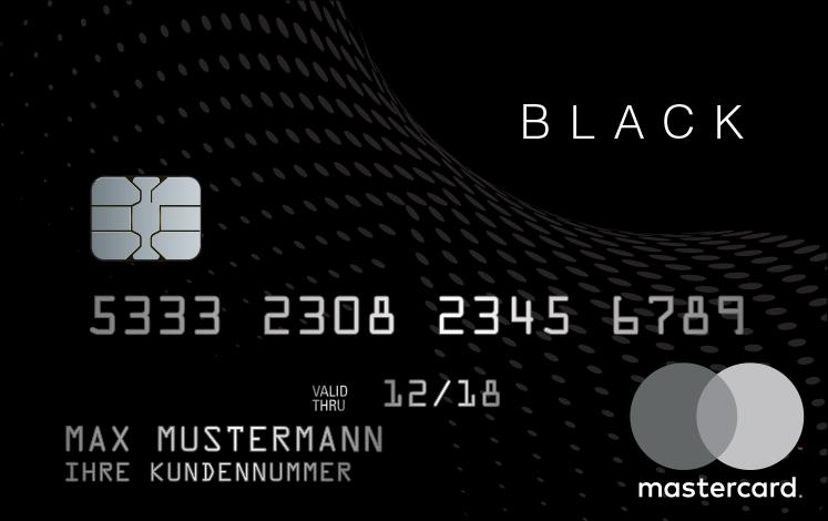 Black&White Kreditkartenduo: Prepaid Kreditkarte
