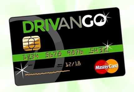 Drivango Kreditkarte