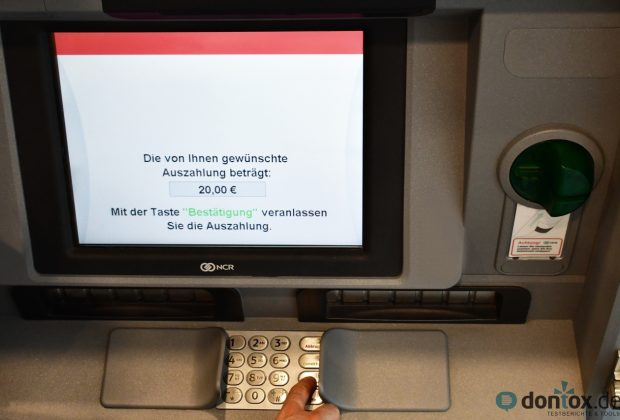 ING-DiBa: Erst ab einer Mindestsumme von 50 Euro Geld abheben