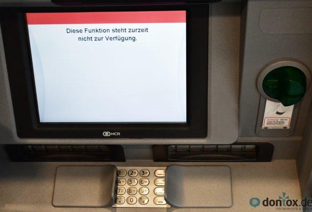 """""""Diese Funktion steht leider nicht zur Verfügung"""" - Geld abheben mit der ING-DiBa Kreditkarte"""