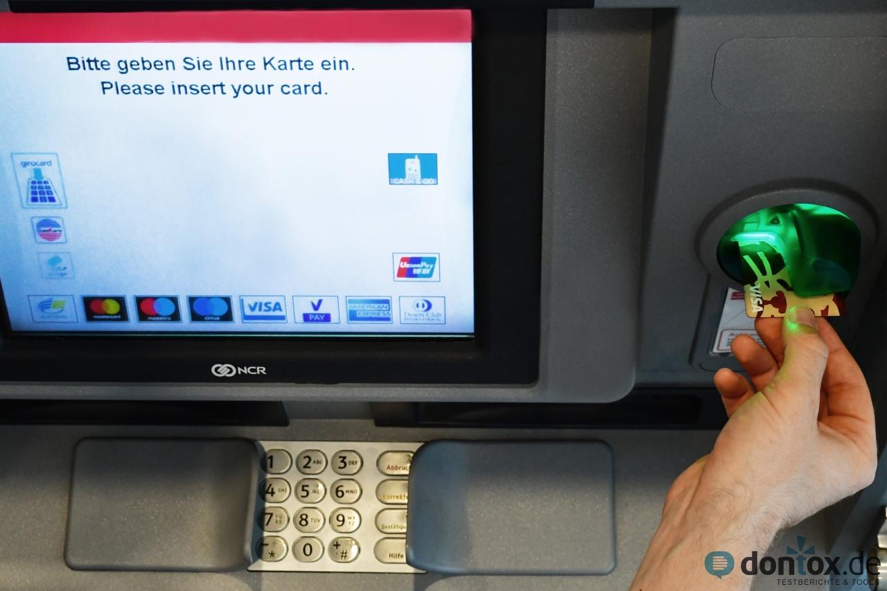 Visa Verweigerer Probleme Beim Geldabheben Mit Kreditkarte ᐅ ➃