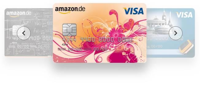 Amazon VISA Kreditkarte - Designs