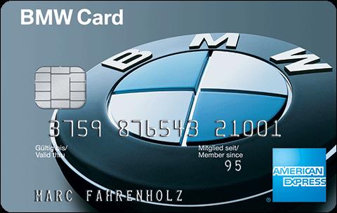 Amex BMW Kreditkarte als Alternative zur Drivango