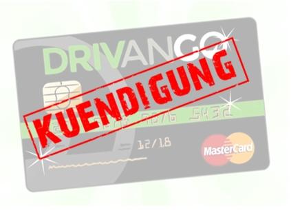 Drivango Tankrabatt Kündigung