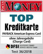 Testsiegel: American Express Payback