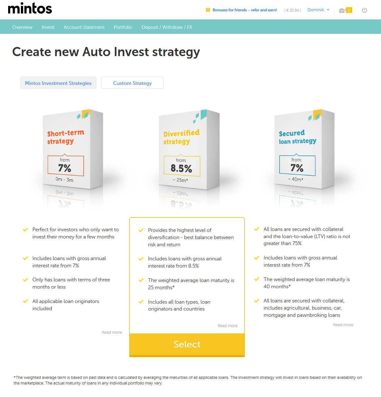 Mintos Autoinvest Testbericht