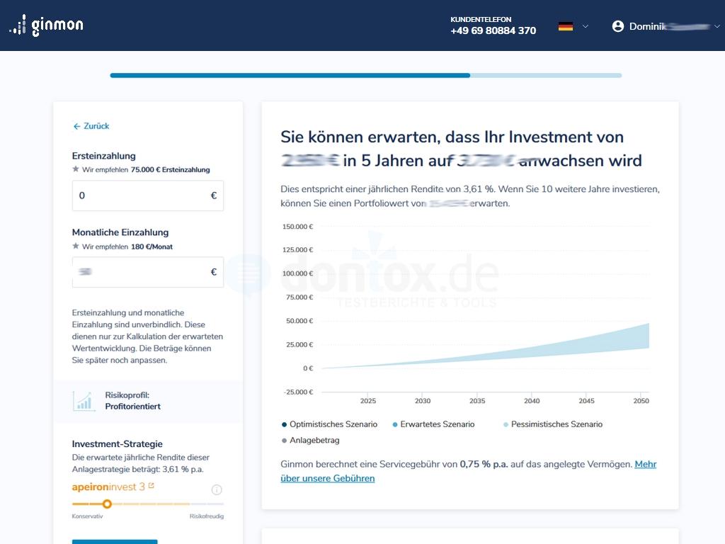 Defensive Investmentstrategie auswählen beim Robo Advisor: Anleihen, Aktien, Rohstoffe, Immobilien