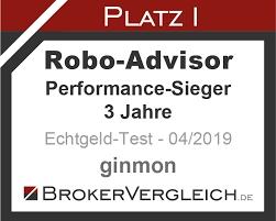 Ginmon Testsiegel Performance-Sieger 2019