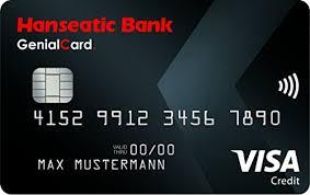 Hanseatic Bank GenialCard VISA